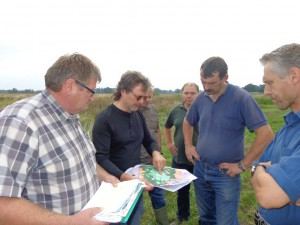 Landwirte im Gespräch