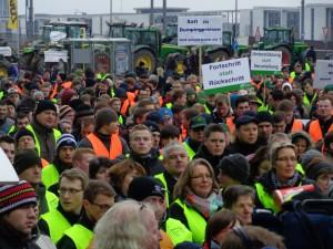 Bauern-Demo Berlin 2015